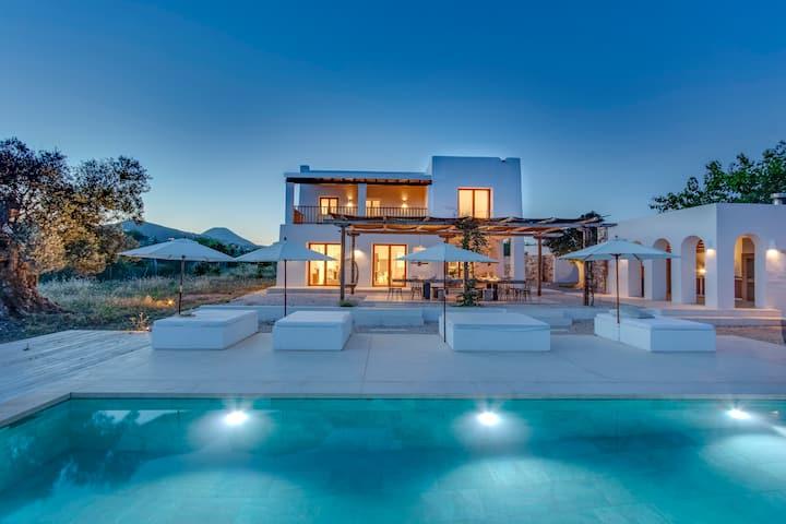 Beautiful seaview Villa close to Ibizas highlights