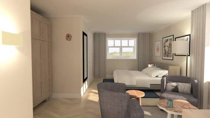 Hampton Home B&B Suite met balkon of terras