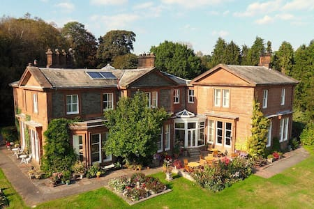 Luxury accommodation in stunning country house