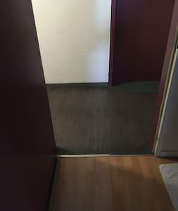 No hay escaleras ni escalones para entrar