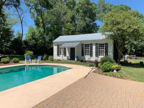 Historic guest house with modern conveniences.