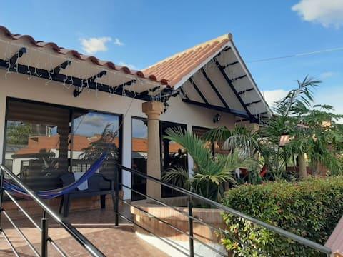 Villa La Lomita- Tinjacá, espacio único y natural