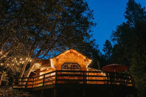 The Fox & Leopard Treehouse