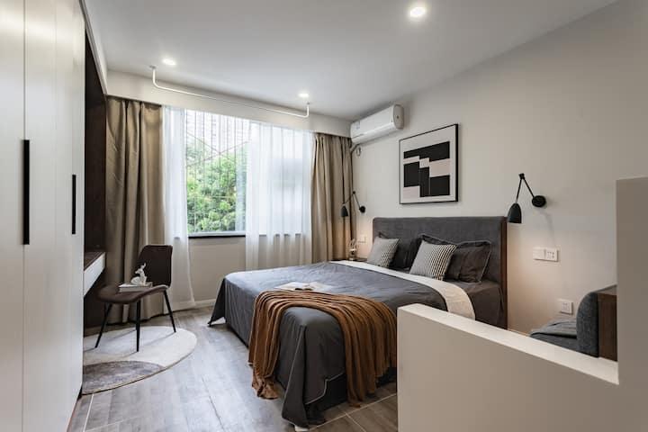 每客消毒 【A11 12 13 14】 红星路地铁站 成都339 舒适一居室 可住2人