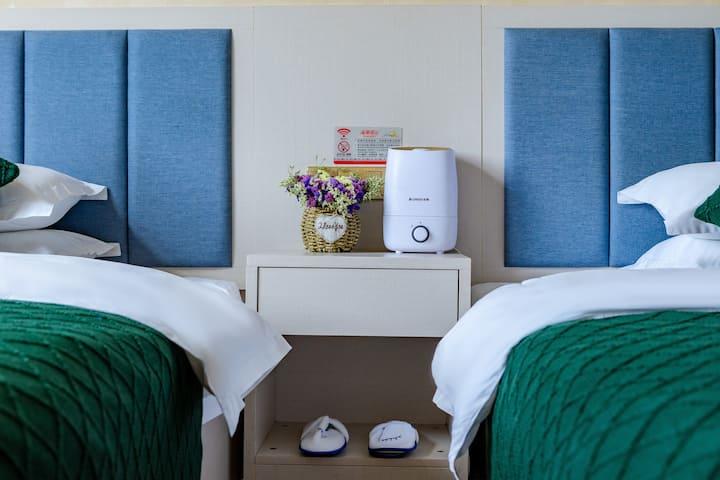 昆明机场尊享双床房(免费接送机)