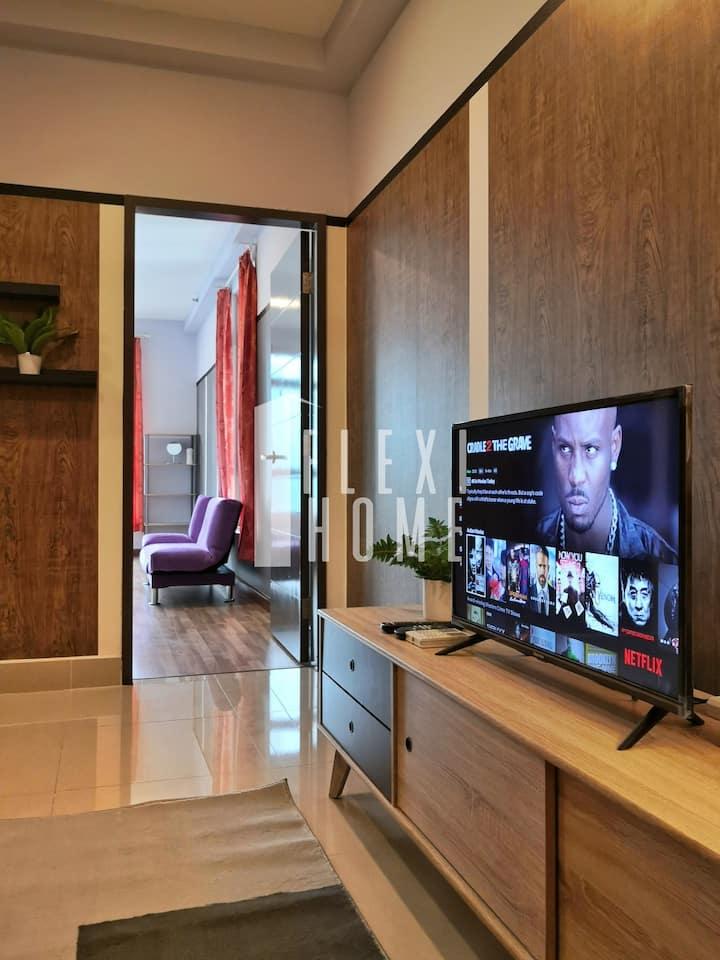 (NETFLIX)1BR Comfort Home, Cyberjaya by Flexihome