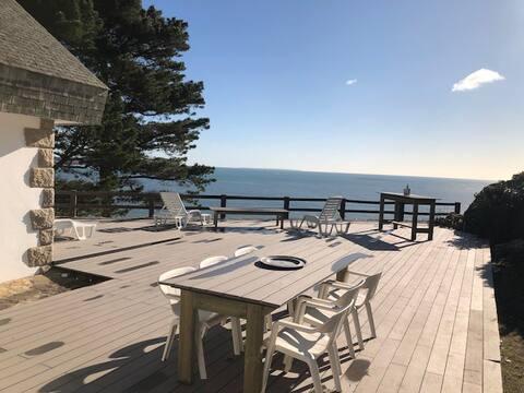 Magnifique maison avec vue sur l'océan - 10 pers