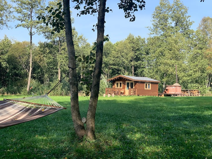 Dvarcenai Wood House - retreat in nature