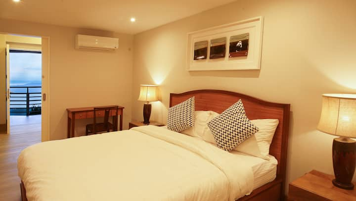 Deluxe Family Suite with Panoramic Taal View