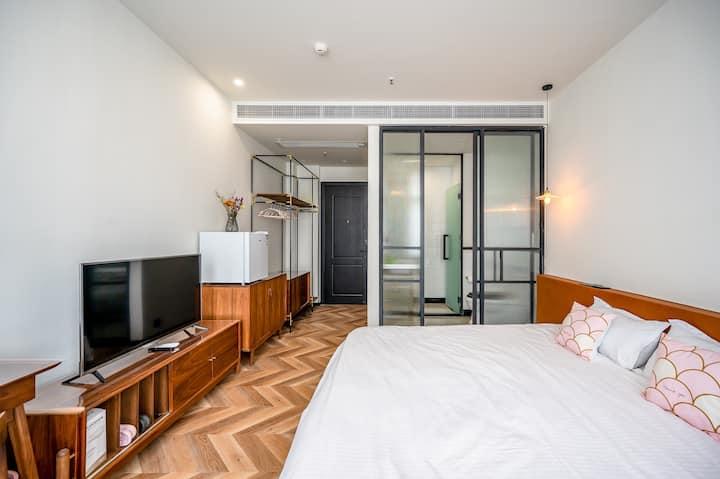 特惠上新 沙坡尾2米大床 霏淇公寓二号 近厦门大学 南普陀 世茂双子塔