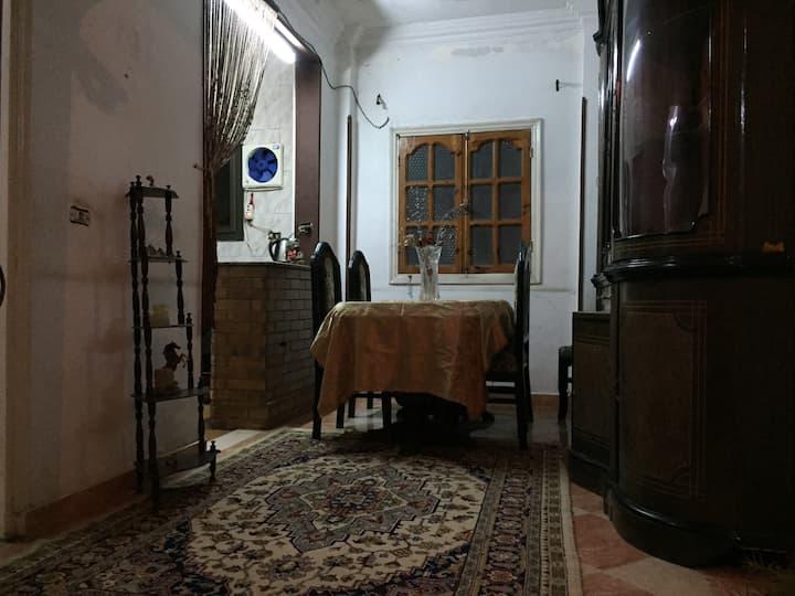 A private room near city center