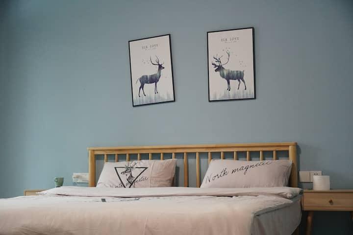 南岳衡山 一室一厅舒适双人间 包接送