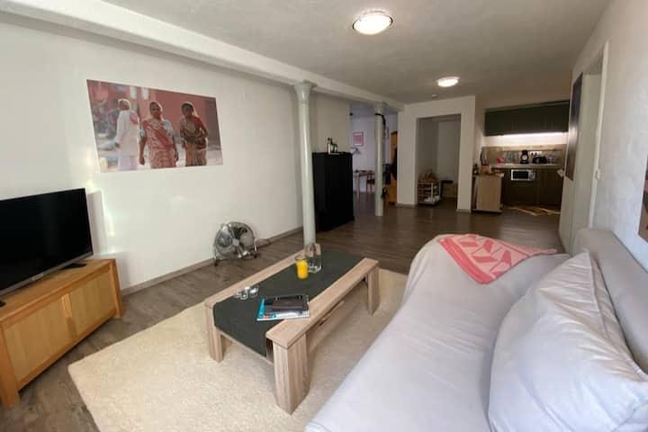 großräumige Suite, 3 Zimmer, Küche, barrierefrei