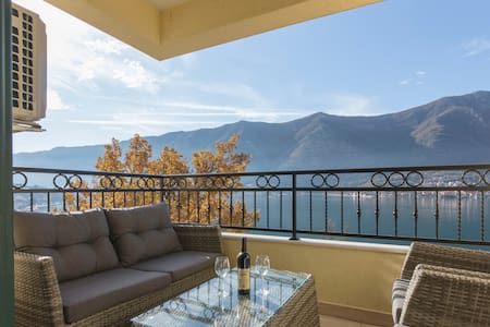 Best Apartment in Kotor with Sauna & Amazing View