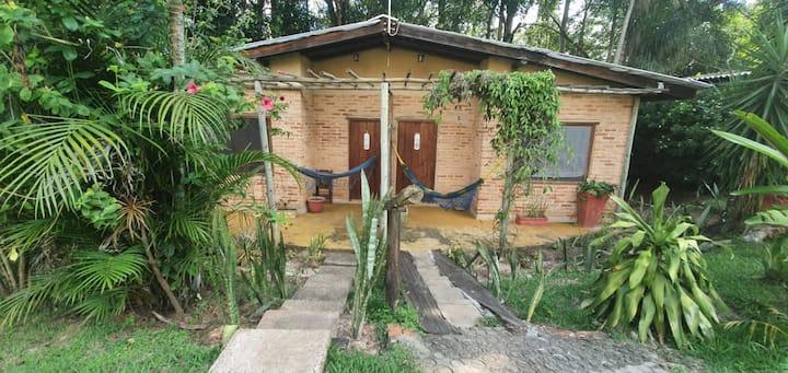 Ecocentro Brasil - Espaço Ecológico Chale Family 4