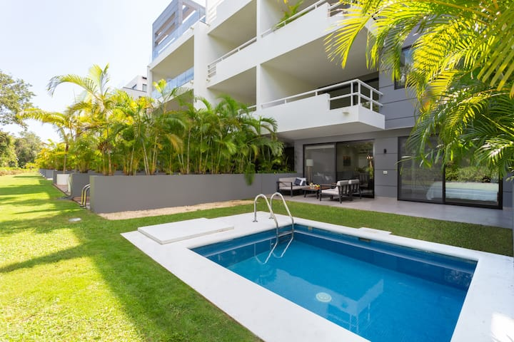 3 Bedroom• Private Pool• Near beach• In golf court
