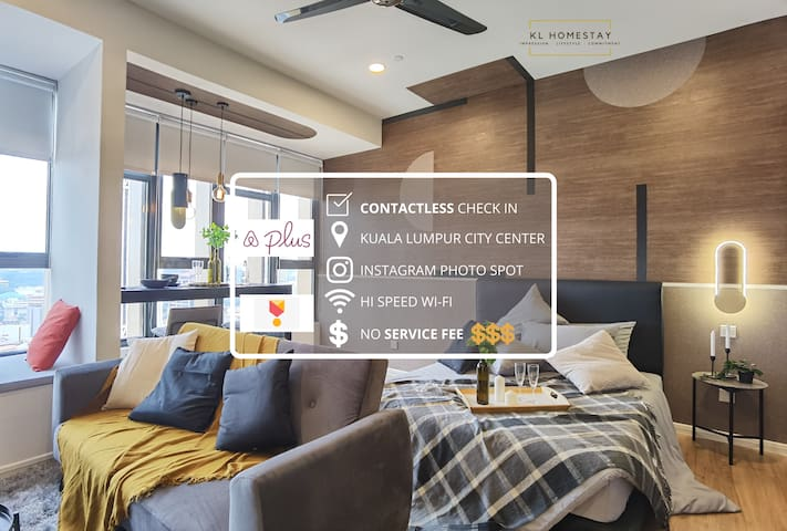 【HOT】DESIGNER SUITE with AIRBNB PLUS SPEC @KL CITY