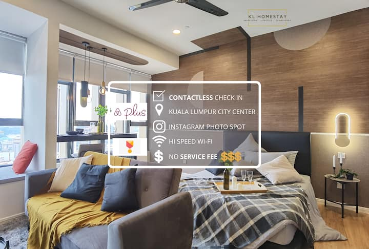 【NEW】DESIGNER SUITE with AIRBNB PLUS SPEC @KL CITY
