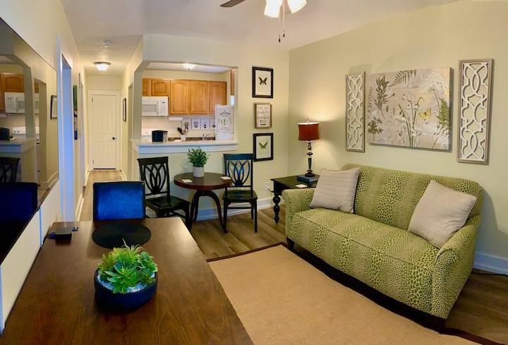 Comfortable & Clean 2-Bedroom Apt in Midtown