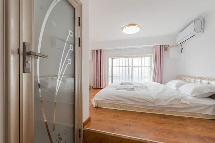 【栖息谷】户部山戏马台妇幼医院两室大床房