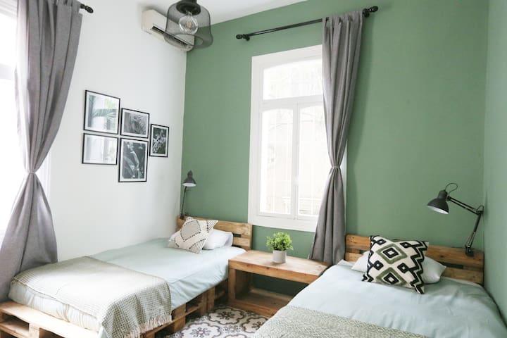 Bedroom 3 - Green