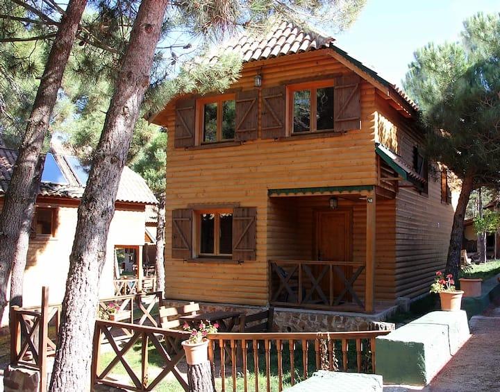 Casa de madera Niu: pura naturaleza en el Montsant