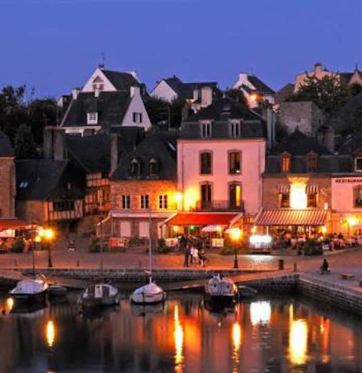 RARE. PORT OF SAINT GOUSTAN, AURAY. LOFT TERRACE.
