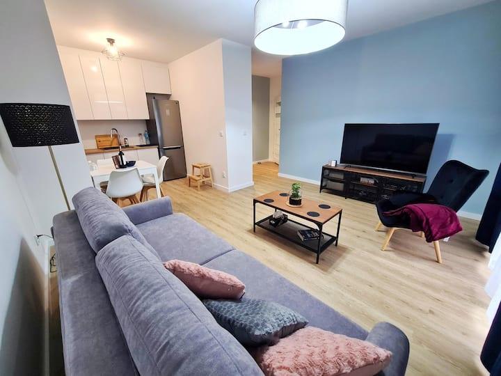Słoneczna - apartament z tarasem