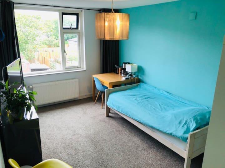 Ruime en rustige kamer vlakbij Utrecht