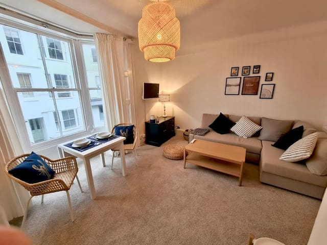 Centrally located near Station, Beach and Laines