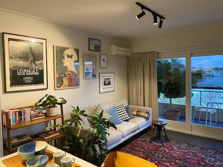 Eclectic beauty looks out over New Farm
