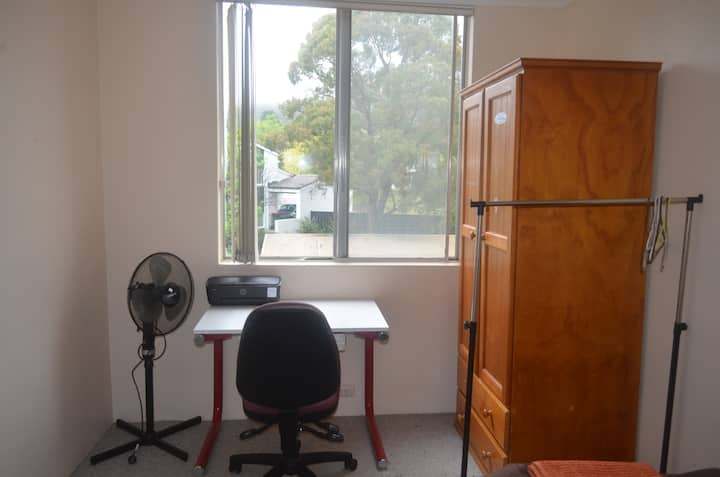 Clean, Tidy Bedroom @ 2BR Unit in Central Location