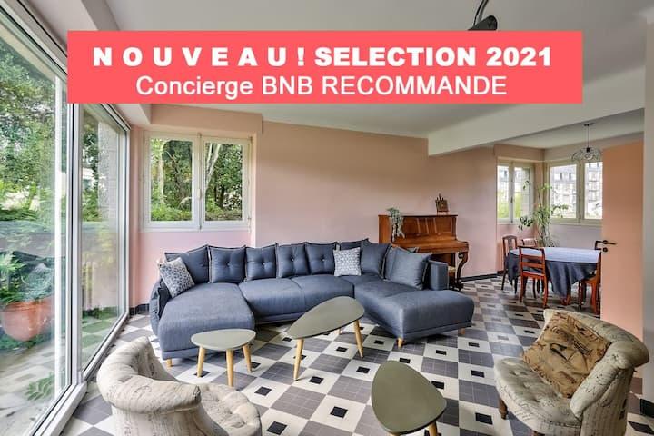 AA - Résidence BNB - Maison - Jardin - Terrasse