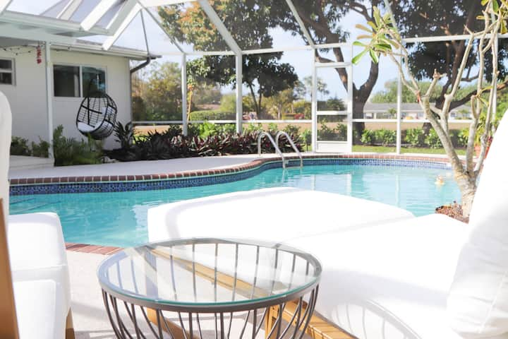 MOD AGAVE-CLOSE TO THE BEACH/HEATED POOL-SERENITY