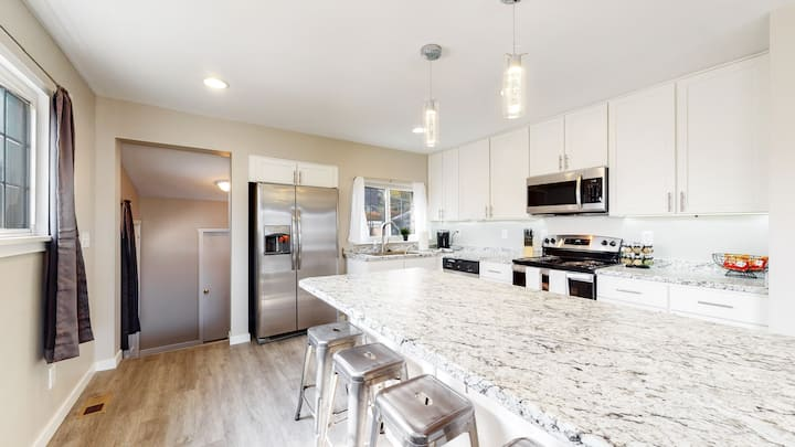 Denver Home near Clear Creek and Twin Lake Park with 3 King Beds