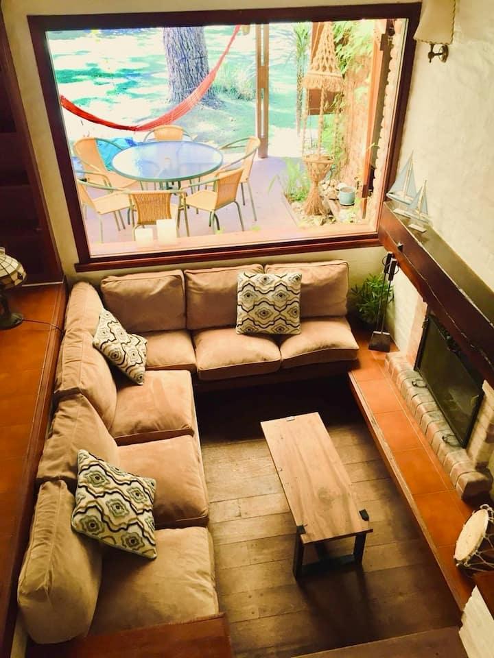 Experiencia única! Casa en el bosque de Cariló