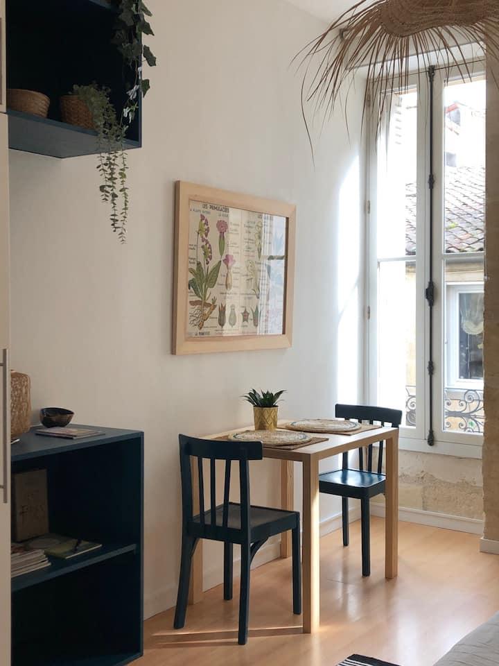 Bordeaux : studio charmant et cosy à Saint-Michel