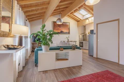Appartement T2 chaleureux & contemporain