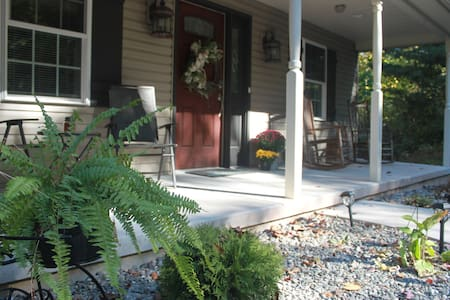 """This 4"""" rise onto porch is the only """"step"""" into or inside it home"""