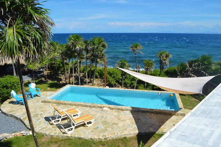 Villa Verde with Ocean Views + Pool!