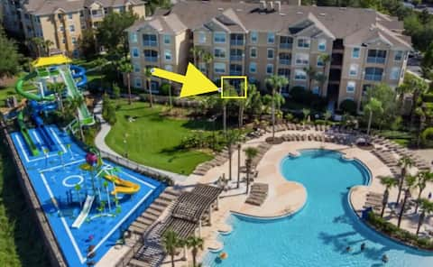 Resort Near Disney: Pool, Waterpark, Patio