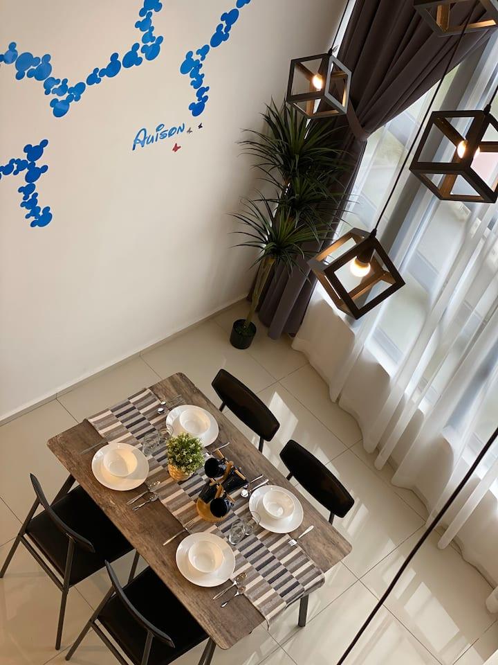 EkoCheras Loft Design 米奇的家 with KLCC View