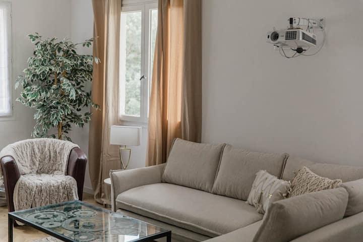 Monaco, La Turbie- Villa au calme avec vue magique