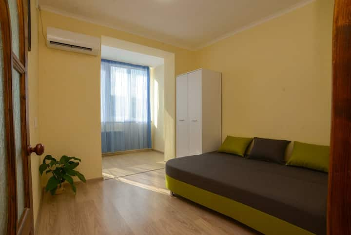 Cozy 2 room. in a new building in Chernomorsk