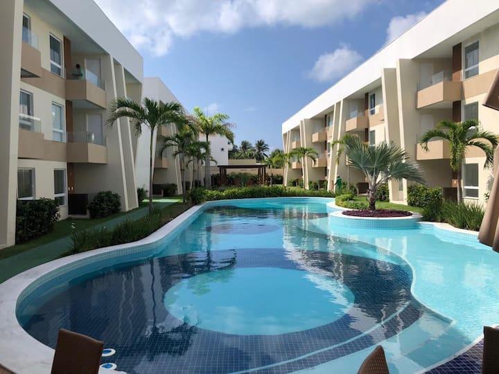 Novíssimo Apartamento Porto Smeralda Guarajuba-BA