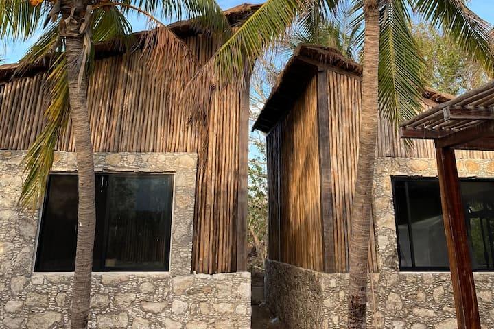 Cabane maya à Las Coloradas/ Lacs roses #3