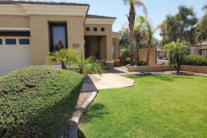Private Gated Community Home on Golf course