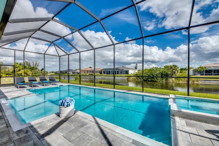2020 Villa Mangifera to relax, saltwater pool&spa