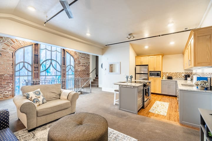 Downtown Provo Luxury Bell Tower Apartment