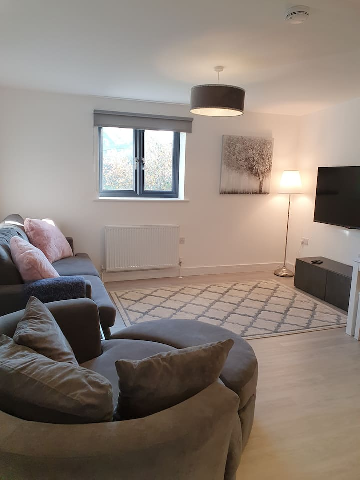 Entire immaculate flat in Stratton 5 min from Bude